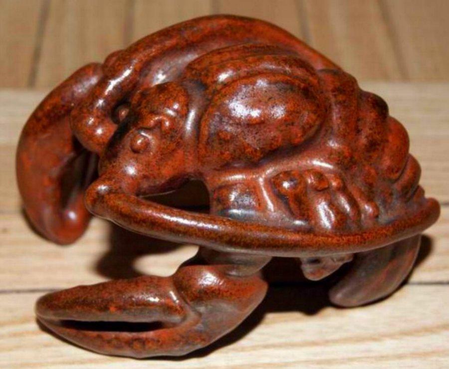 seltenes richard teschner keramik sternzeichen krebs rarit t. Black Bedroom Furniture Sets. Home Design Ideas